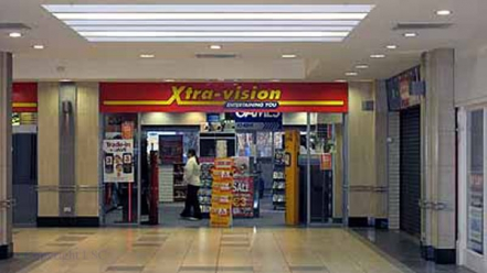 Jedward visit Xtravision at the Shopping Centre