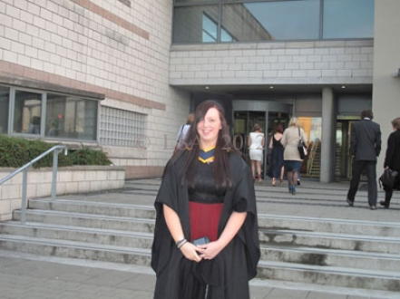 Anna May  on  her Graduation  from  LYIT  26 October 2012