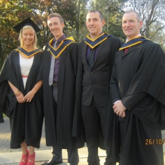 Niamh  on her Graduation  26 October 2012