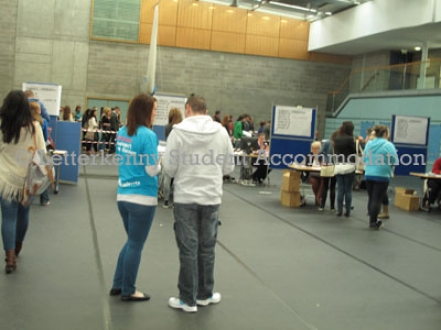 Registration day at LYIT