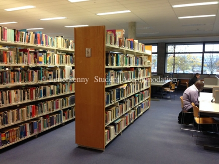 library at LYIT