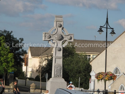 Celtic Cross Cathedral Square Letterkenny