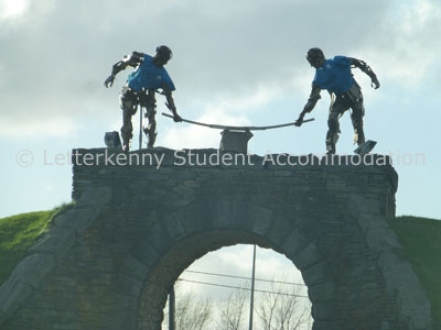 The Workers located at Dry Arch Roundabout Letterkenny
