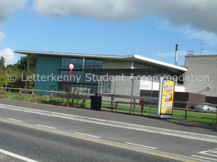 LYIT Bus Shelter