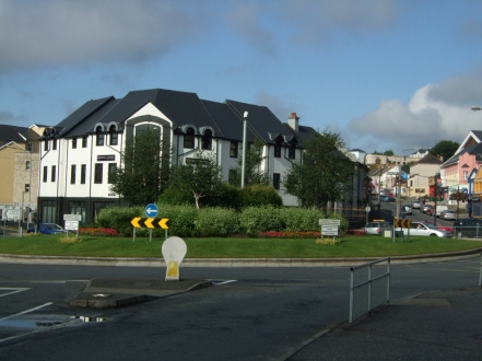 Station Roundabout off Pearse Rd  & Port Road