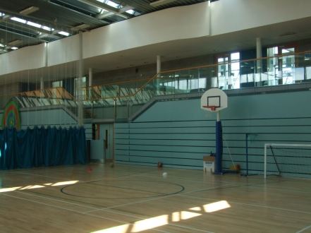 Multi purpose sports centre opened 2004